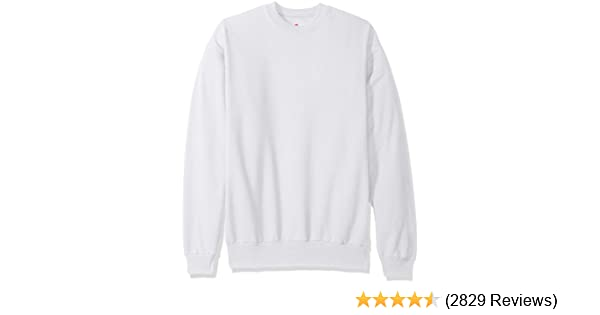 Hanes Mens Ecosmart Fleece Sweatshirt At Amazon Mens Clothing Store