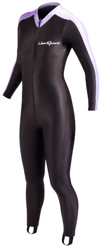 NeoSport Wetsuits Full Body Sports Skins Full Body Sports Skins, Lavender, Size M - Diving, Snorkeling & Wakeboarding