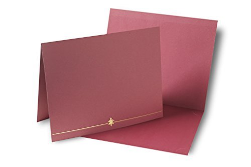 Red Award Certificate Holder - 6 CT ()