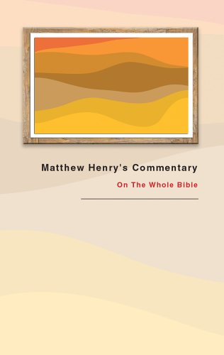 book of isaiah commentary matthew henry