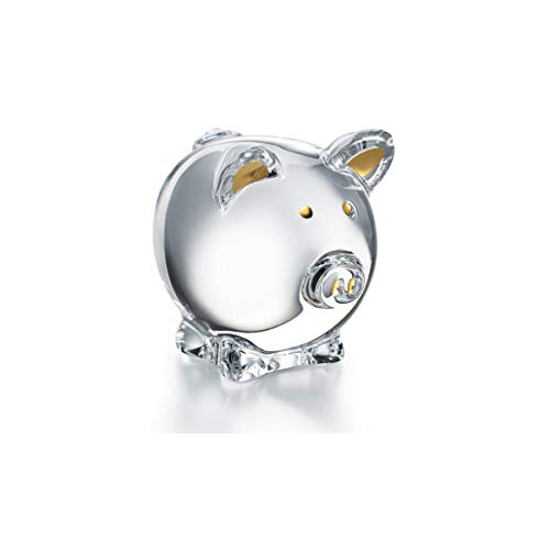 (Baccarat Crystal Zodiac Pig 2019, Clear and Gold #2812391)