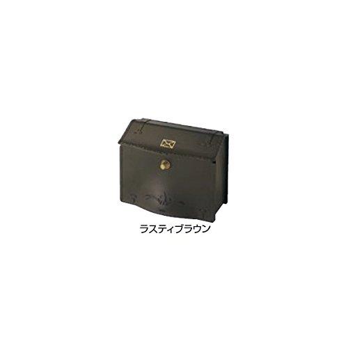 リクシル TOEX エクスポスト デザインタイプ D-1型(壁付け) 『リクシル』 『郵便ポスト』 ラスティブラウン B075R355VG 21099