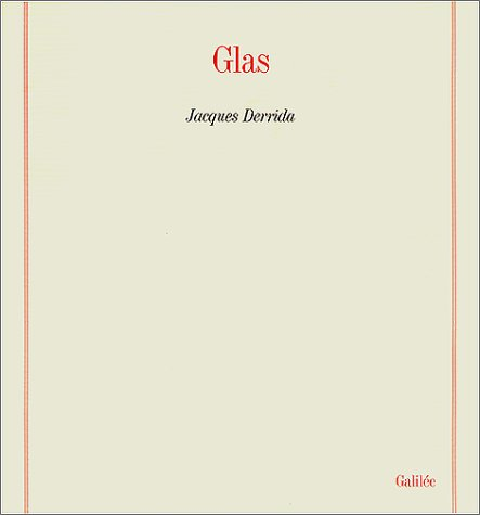 Glas (French Edition) by Éditions Galilée