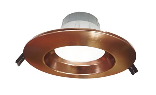 NICOR Lighting Dimmable 3000K Commercial LED Recessed Downlight Retrofit Kit, Oil-Rubbed Bronze (CLR6-10-UNV-30K-OB) by NICOR Lighting