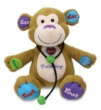 - Cuddle Barn Learning Child Play Animated Plush Monkey Toy - Dr. Charlie (CB4761)