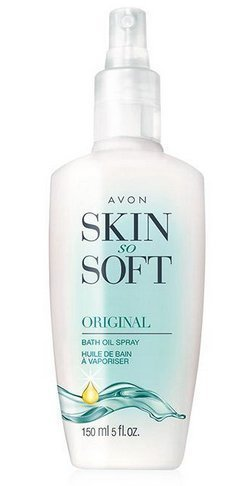 Avon Skin So Soft Original Bath Oil Spray with Pump 5 Ounce
