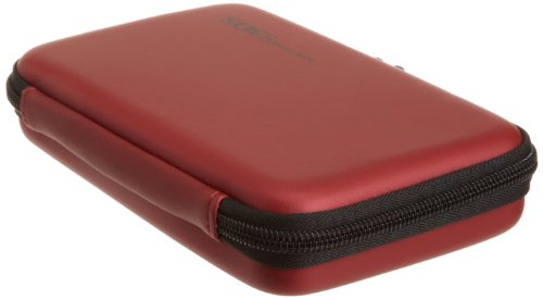 AmazonBasics  Carrying Case for Nintendo 3DS, DS Lite, DSi and DSi XL - Red (Officially Licensed by Nintendo)