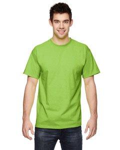 Fruit of the Loom 3931 100% Cotton HD T-Shirt - Neon Green - XL