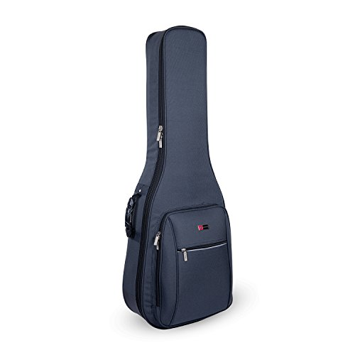 Crossrock CRDG105DGY Case Deluxe Acoustic/ Dreadnought Guitar Gig Bag, Grey ()