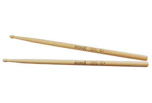 (Shaw C Plus Hickory Wood Tip Drumsticks)