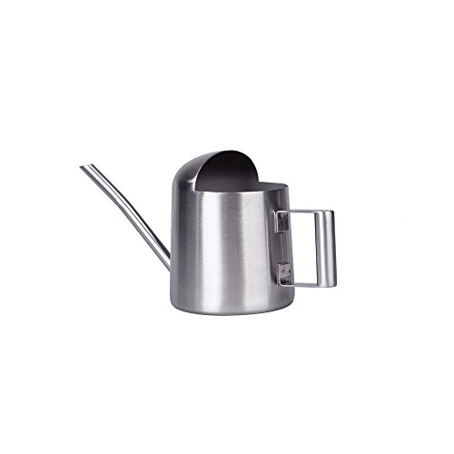 Metal Pot Waterer (Asvert Stainless Steel Watering Can Pot Modern Style, 300 ml (Small))