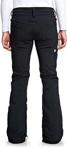 DC Viva Softshell Snowboard Pants Womens Sz L Black
