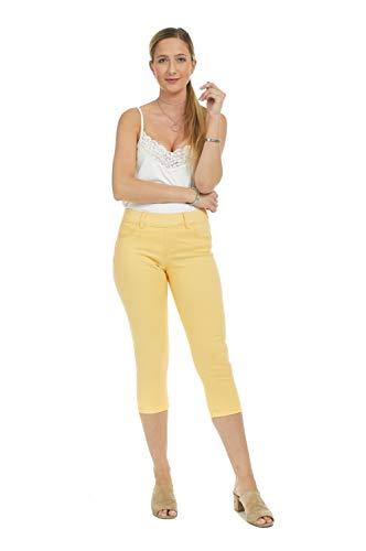 Suko Jeans Women's Denim Capris - Pull On – Stretch 19
