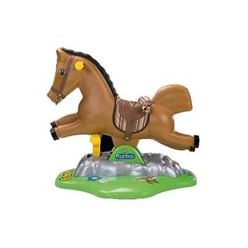 Cavallo A Dondolo Peg Perego.Peg Perego Ed0092 Cavalluccio A Dondolo Rocky Amazon It Giochi