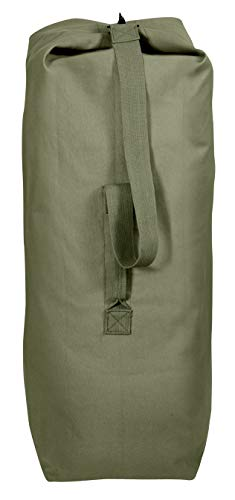 Rothco Heavyweight Top Load Canvas Duffle Bag, 25