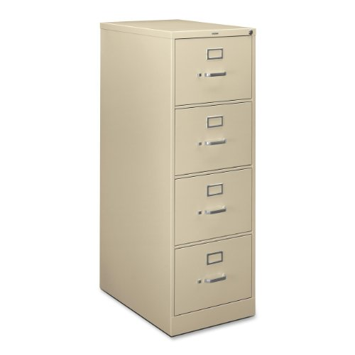 HON H324CL H320 Series 26-1/2-Inch 4-Drawer Full-Suspension Legal File, - Inchw 36 Cabinets