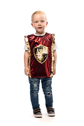 Little Adventures Knight Dressup Costume Vest (Red,