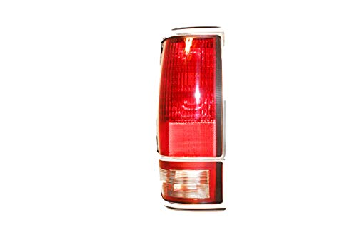 For 1982 1983 1984 1985 1986 1987 1988 1989 1990 1991 1992 1993 Chevrolet Chevy S10 | Gmc S15 | Sonoma Rear Tail Light Taillamp Assembly Driver Left Side Replacement GM2800105