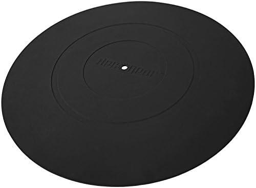 Deco Gear - Alfombrilla universal de silicona para tocadiscos de ...