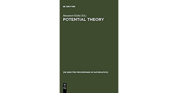 Potential Theory, Proceedings of the international conference on potential theory, Nagoya 1990