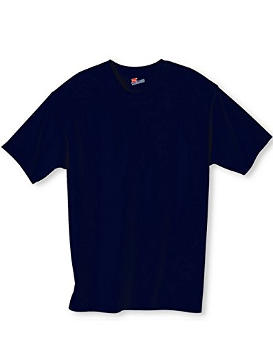 Hanes 5250T Tagless T Shirt, Navy, - Stores Yountville