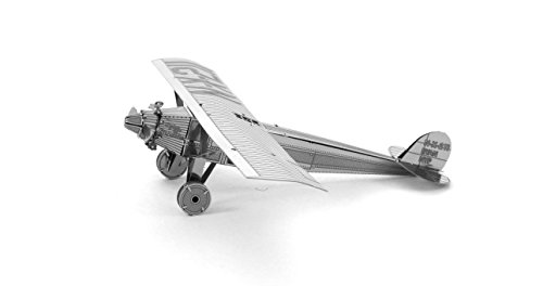 Fascinations Metal Earth Spirit of Saint Louis Airplane 3D Metal Model Kit