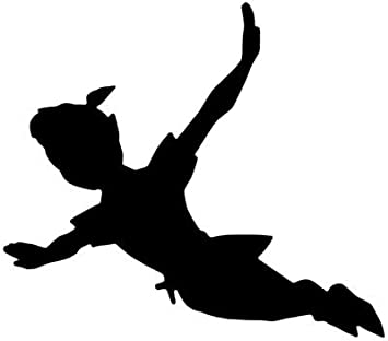 Lost Girl Peter Pan Decal Car Sticker Market31