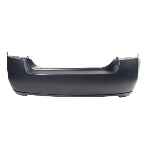 CarPartsDepot, Primered Black Rear Bumper Cover New Replacement, 352-36834-20-PM NI1100249 85022ET30J