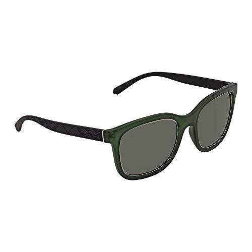 Burberry Men's BE4256 Sunglasses Matte Green/Green 54mm