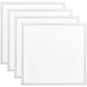 4 Pack 2x2 Ft Led Panel Light Luxrite 40w 3000k Soft