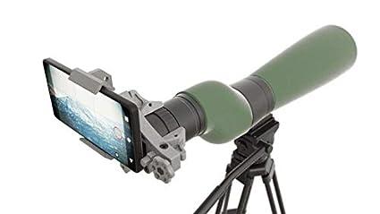 Amazon com : Vertebrae Hugin MkII - Phone Mount for Spotting scopes