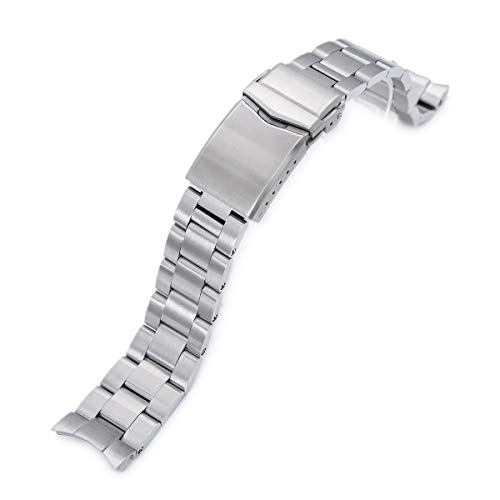 20mm Super 3D Oyster Watch Bracelet for Seiko Mechanical Automatic SARB033, ()