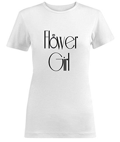 Hower Girl Wedding Party Damen T-shirt