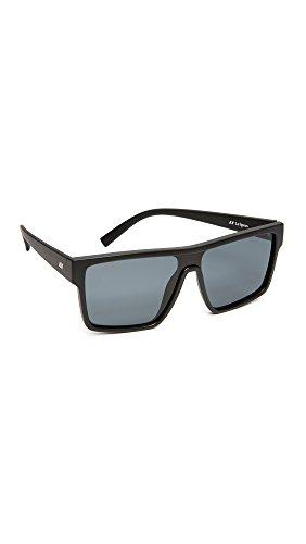 Le Specs Women's Minimal Magic Sunglasses, Matte Black/Smoke Mono, One - Minimal Sunglasses