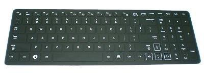 BingoBuy® Silicone Keyboard Protector Skin Cover for Samsung R580, R590, RC510, QX530, SF510, RF510, RF511, RV520, RV511, RV515 (if your