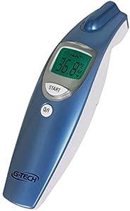 Termômetro Clínico G-Tech Digital de Testa sem Contato - Medição da Temperatura Corpórea, Ambientes e Superfíc
