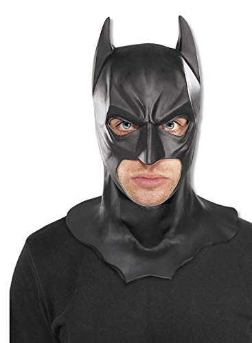 Batman The Dark Knight Rises Full Batman Mask, Black, One Size (Stand For Does What Mask)