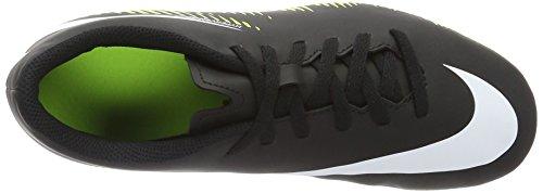 Nike Jungen 844270-017 Fußballschuhe Schwarz (Black/White-Volt-Paramount Blue)
