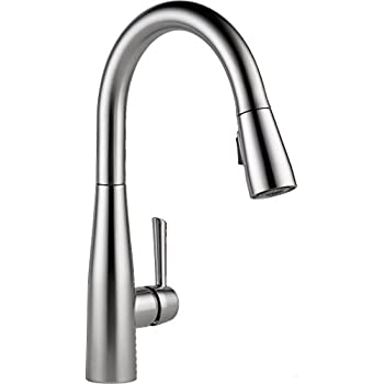 Delta Faucet 9113-AR-DST Essa Single Handle Pull-Down Kitchen Faucet ...