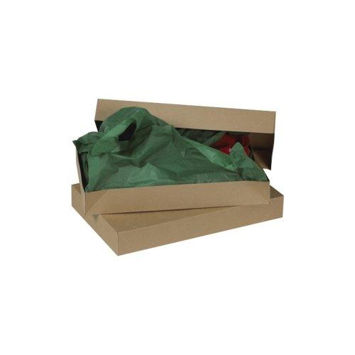 Aviditi AB15092K Fibreboard Apparel Box, 15'' Length x 9-1/2'' Width x 2'' Height, 0.020'' Thick, Kraft (Case of 100) by Aviditi