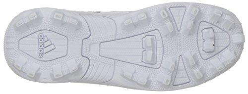 adidas Unisex Freak Mid MD Wide J Football Shoe, FTWR White, core Black, 4 M US Big Kid by adidas (Image #3)