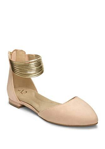 Aerosoles A2 Women's Girl Next Door Ballet Flat Light Pink Combo 8 M US