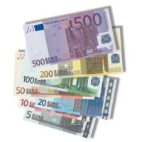 Teachers Discovery Euro Money Bills product image