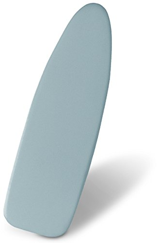 Zoyer Ironing Board Cover - Silicone Coated Scorch-Resistant Quick-Dry Material With Thick Padding, 15x54 Inch - Blue