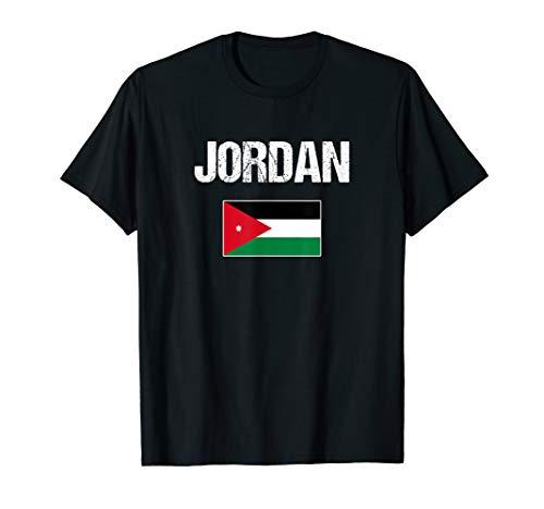 Jordan T-shirt Jordanian Flag - For Men/Women/Youth/Kids