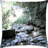 Kentucky cave - Throw Pillow Cover Case (18