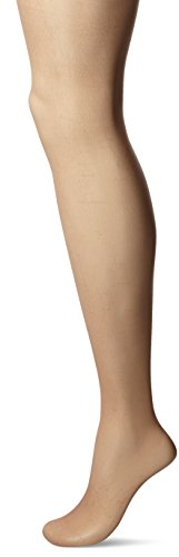 L'eggs Women's Silken Mist Control Top Sheer Toe Run Resist Ultra Sheer Leg Panty Hose, Sun Beige, B ()