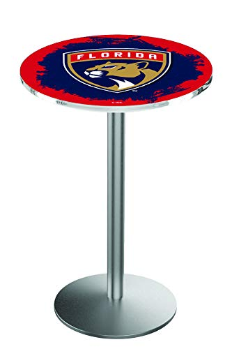 - Holland Bar Stool L214 NHL Florida Panthers Officially Licensed Pub Table, 28