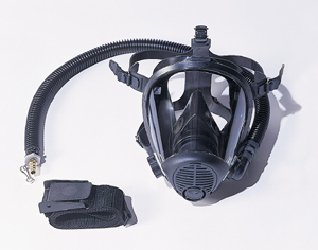 Survival Air Systems 9814-05 Medium Opti-fit Multi-Use Full Face Respirator by Survival Air Systems