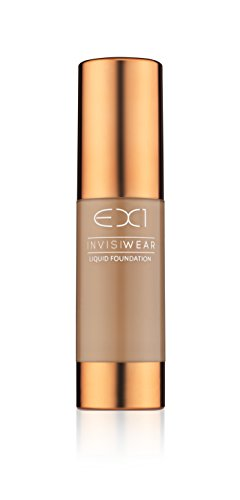 EX1 Cosmetics Invisiwear Liquid Foundation F500 - Oil and Fragrance Free, Dermatologically, Clinically (Fragrance Free Liquid Foundation)